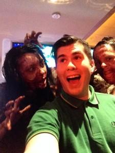 zombie selfie status