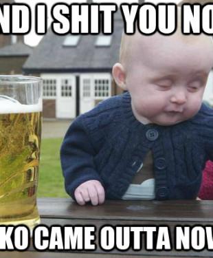 RKO NOWHERE BABY