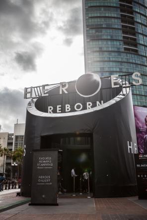 VSL produced Heroes Reborn Experience Entrance