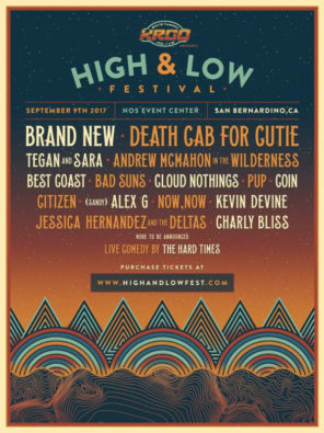 High and Low Festival Lineup
